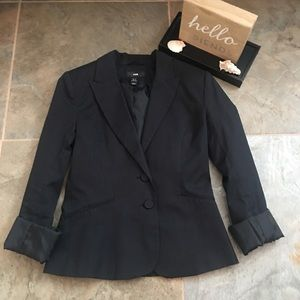 H&M pinstripes blazer size 4